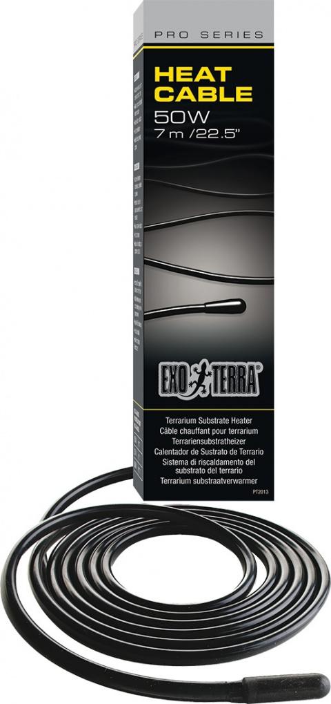 Аксессуары для террариев - ExoTerra Heat Cable 50W, 7 метров