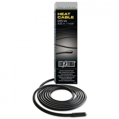 Аксессуары для террариев - Exo Terra Heat Cable 25W,  4,5 метра