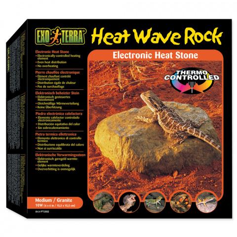 Aksesuari terarijem - ExoTerra Heat Wave Rock medium title=