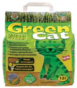 Песок для кошачьего туалета - GreenCat, 12 L