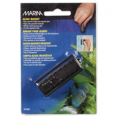 Аксессуар для аквариума - MARINA Magnet Glass Cleaner 6*4см title=