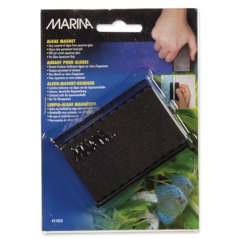 Аксессуар для аквариумов - MARINA Magnet Glass Cleaner, 8*6*3.5см title=