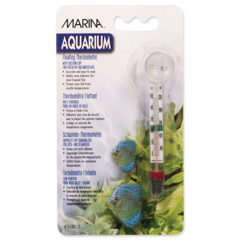 Termometrs akvārijam - Floating Glass Thermometer