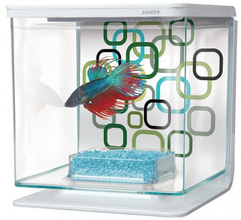 Akvārijs – Marina Betta Kit Geo Bubble, 2 L title=