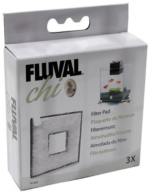 Наполнитель аквариумного фильтра - CarbonFoam for Fluval Chi (3шт) title=