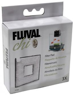 Наполнитель аквариумного фильтра - CarbonFoam for Fluval Chi (3шт)