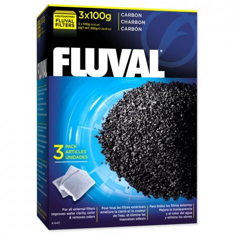 Наполнитель аквариумного фильтра - Fluval Carbon 300g title=
