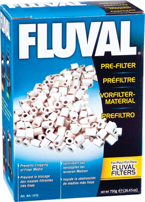 Akvārija filtru pildījums - Fluval Pre-Filter 750g title=