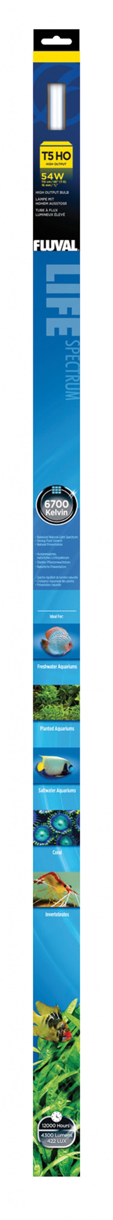 Лампа для аквариума - FLUVAL Power T5, 115 cм, 54W title=
