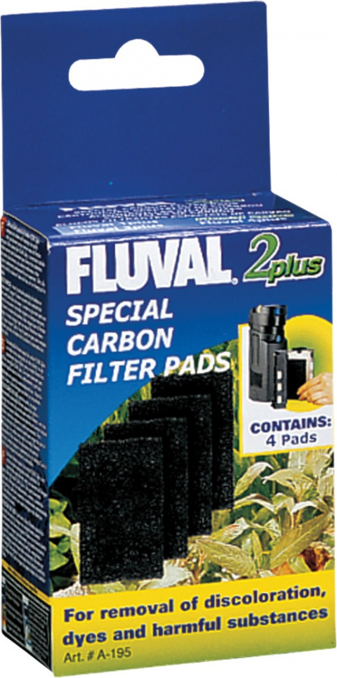 Наполнитель аквариумного фильтра - CarbonFoam for Fluval 2 Plus title=