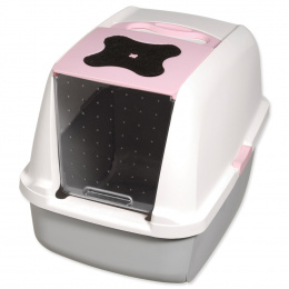 Tualete kaķiem - Cat It Design (grey/pink)