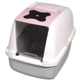 Tualete kaķiem - Cat It Design (pelēka/rozā)