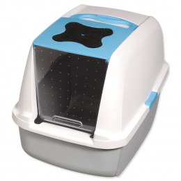 Tualete kaķiem - Cat It Design (pelēka/zila)