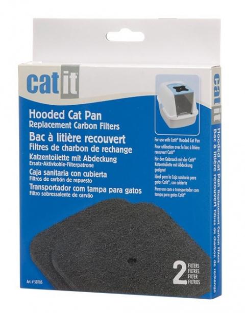 Filtrs kaķu tualetei  - Hagen Cat It Design, 2 gab. title=