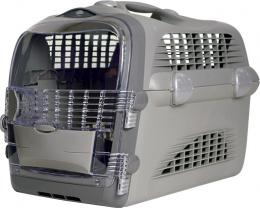 Transportēšanas bokss - Pet Cargo Cabrio (grey) 51x33x35cm