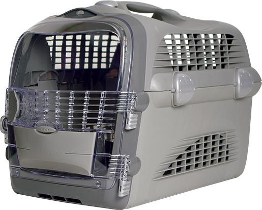 Транспортировочная переноска - Pet Cargo Cabrio (серый) 51x33x35cm