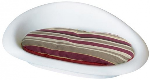 Guļvieta suņiem -  DOG IT plastic bed with a pad, 52,5*35.6*15.6cm