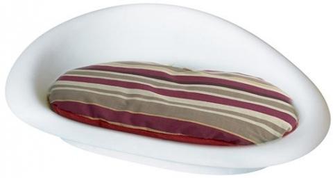 Спальное место для собак -  DOG IT пластиковая кровать с подстилкой, 52,5*35.6*15.6cm
