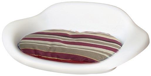 Guļvieta suņiem -  DOG IT plastic bed with a pad, 76,8*51*24,5cm