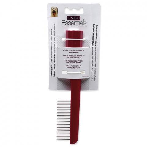 Расческа для собак - Le Salon, Essentials Rotating Pin Comb title=