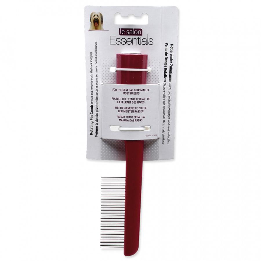 Расческа для собак - Le Salon, Essentials Rotating Pin Comb