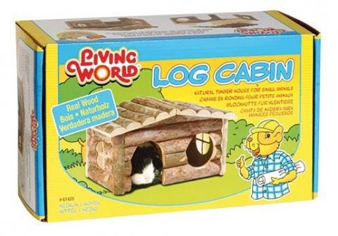 Аксессуар для клетки грызунов - Log Cabin 'M'