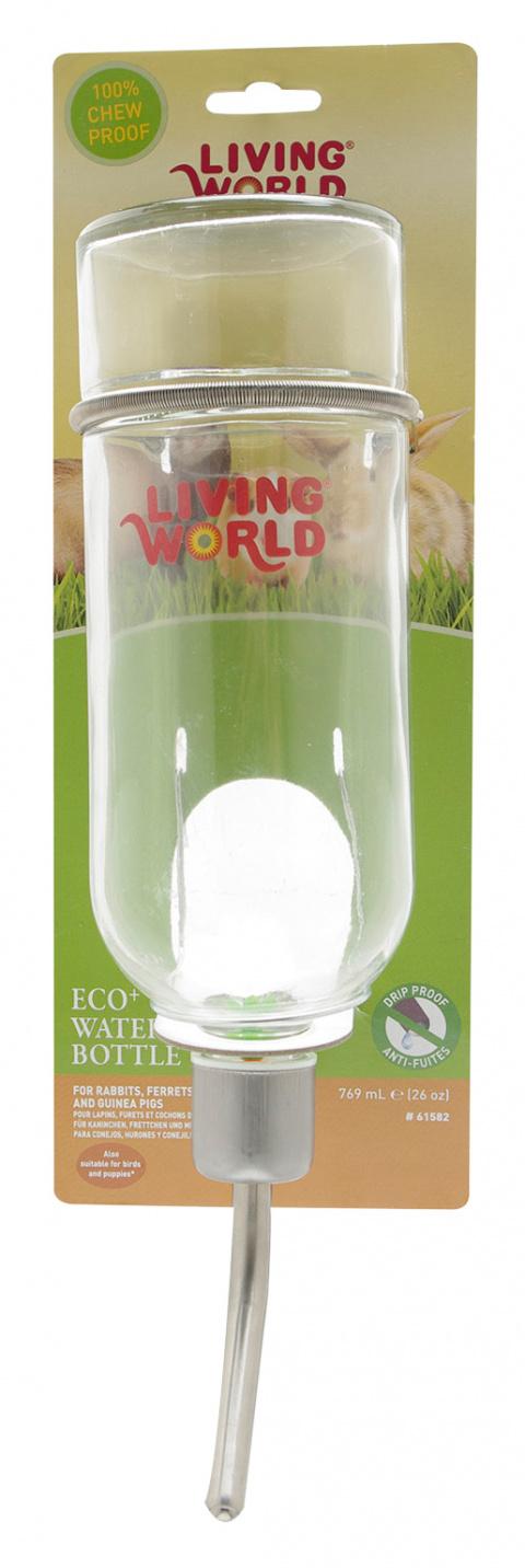 Поилка для грызунов - LW Drinking Glass Bottle 769ml title=
