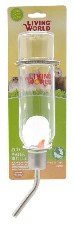 Поилка для грызунов - LW Drinking Glass Bottle 355ml
