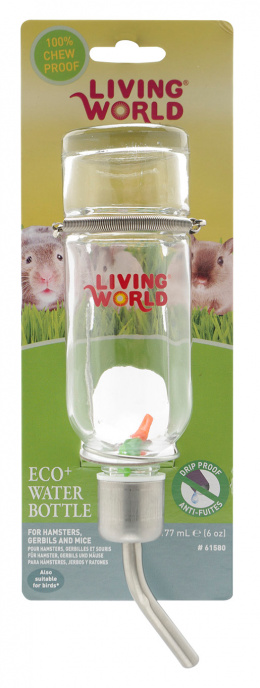 Поилка для грызунов - LW Drinking Glass Bottle 177ml