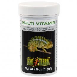 Пищевая добавка для рептилий - ExoTerra MultiVitamin 70g