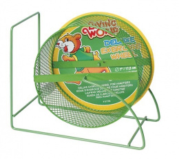 Grauzēju ritenis - Living World Hamster Wheel, 17.5 cm