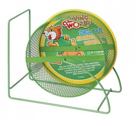Колесо для грызунов - Living World Hamster Wheel, 17.5 см