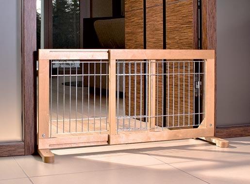 Barjera suņiem – TRIXIE Dog Barrier, 63–108 x 50 x 31 cm