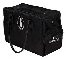 Сумка для транспортировки животных - King of Dogs Carrier, 17x26x36cm, черный