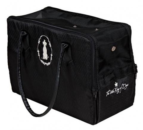 Transportēšanas soma dzīvniekiem - King of Dogs Carrier, 17x26x36cm, melna