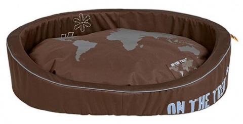 Спальное место для собак - On the Trek Bed, 70*55cm, коричневый title=