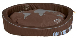 Спальное место для собак - On the Trek Bed, 70*55cm, коричневый