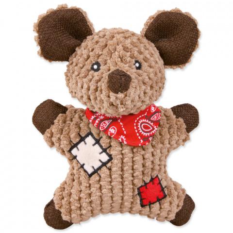 Rotaļlieta suņiem - Mouse, fabric/jute, 19cm