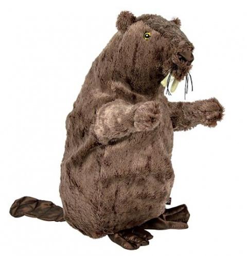 Игрушка для собак – TRIXIE Beaver, plush, 40 см title=