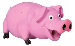 Игрушка для собак - TRIXIE Bristle Pig, Latex, 21см