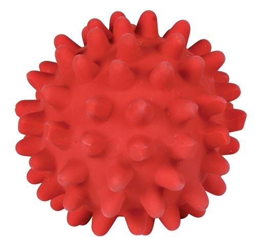 Игрушка для собак - Мячик с шипами, латекс, 6cm