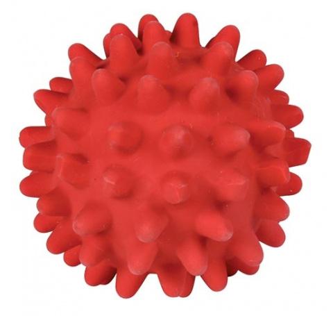 Rotaļlieta suņiem – TRIXIE Hedgehog Ball, Latex, 6 cm title=