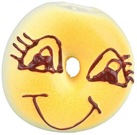 Rotaļlieta suņiem – TRIXIE Assortment Bagels and Rolls, Latex, 6 cm title=