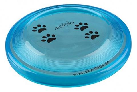 Игрушка для собак - Dog Disc, пластик, 19 см title=