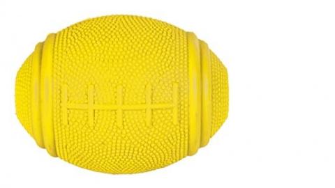 Игрушка для собак - Мячик для регби, Мячик для лакомства, Натуральная резина, 10cm