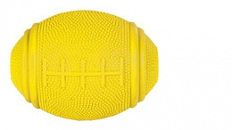 Rotaļlieta suņiem - Rugby, snack ball, natural rubber, 10cm