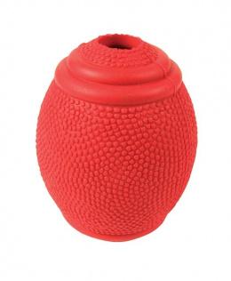 Rotaļlieta suņiem - Rugby, snack ball, natural rubber, 8 cm