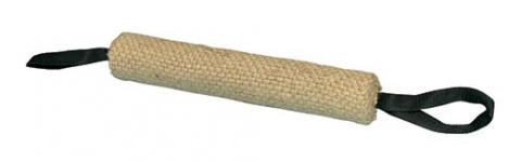 Rotaļlieta suņiem – TRIXIE Training dummy, biting roll, jute, 30 cm/6 cm title=