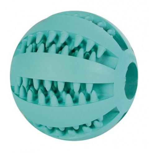 Игрушка для собак – TRIXIE Mintfresh Baseball, Natural Rubber, 7 см title=