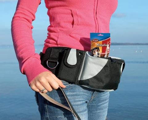 Сумка для лакомства – TRIXIE Dog Activity Hip Bag Baggy Belt, XXL title=